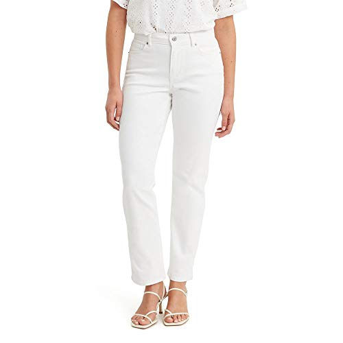 Levi's Women's Classic Straight Jeans, Simply White, 27 (US 4) R