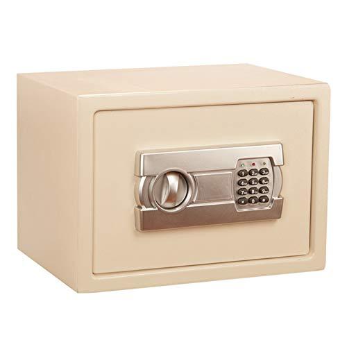 Caja fuerte de alta seguridad Caja de seguridad de gabinete Pequeño depósito electrónico Cerradura de seguridad de pared de pared de ancho de pared para depósito de joyería de pistola de dinero Puede
