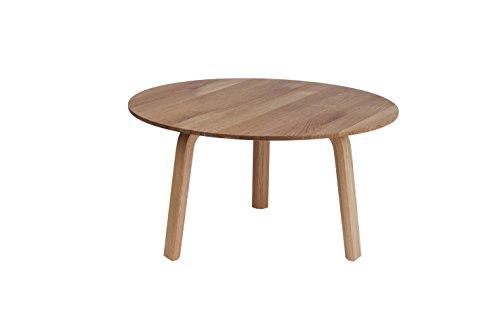 HAY - Bella Coffee Table - Ø 60 x H 32 cm - Eiche Natur - Design - Beistelltisch - Couchtisch - Sofatisch