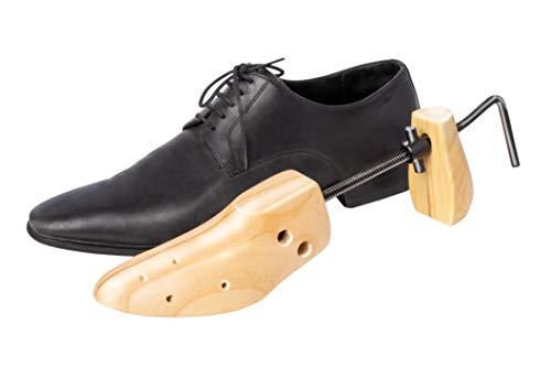 UPP Schuhdehner I Schuhspanner Herren für Größen 37-49 I Schuhspanner aus Zedernholz dehtn Schuhe in Länge und Breite und einzelnen Punkten I Stabiler Schuhweiter [1 STK.]