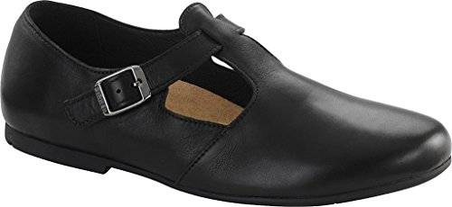 Birkenstock Womens Tickel Ballerina Pump Black Size 36 EU (5-5.5 M US Women)