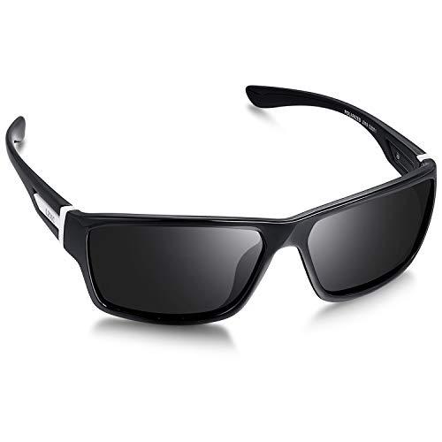 LZXC Sport Gepolariseerde Zonnebril voor Heren met Ultralicht Frame voor Rijden, Fietsen