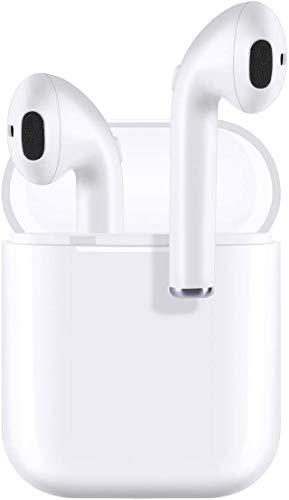 Auriculares Bluetooth,Auriculares inalámbricos Bluetooth5.0 In-Ear Mini Auriculares Auriculares,emparejamiento automático emergente,para Auriculares iPhone/Android/Samsung/Huawei Xiaomi