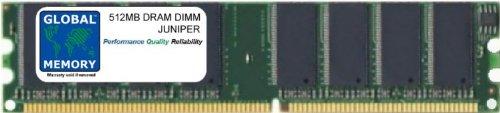 512MB DRAM DIMM MEMORY RAM FOR JUNIPER J2350 / J4350 / J6350 ROUTERS (JXX50-MEM-512-S, J4300-MEM-512M, J4300-512M-S)