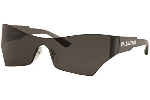 Balenciaga Sonnenbrillen BB0040S 001 grau grau Größe 99 mm Brillen unisex