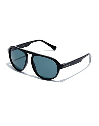 HAWKERS Weekender Gafas de Sol, Black Blue, Talla única Unisex Adulto