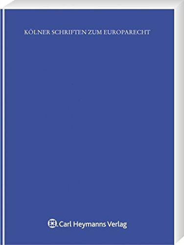 Die Vereinbarkeit des kommunalen Örtlichkeitsprinzips mit dem Recht EG-Recht (Kölner Schriften zum Europarecht)