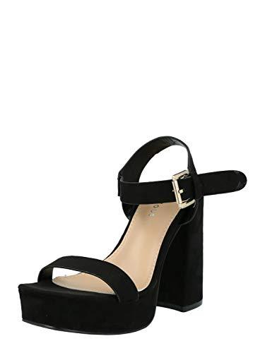Glamorous Damen Sandale schwarz 4 (37)