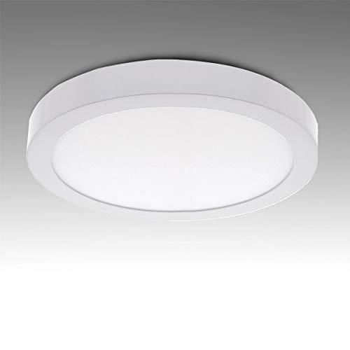 Greenice | Plafón LED Circular Superficie Ø169Mm 12W 930Lm 30.000H | Blanco Frío