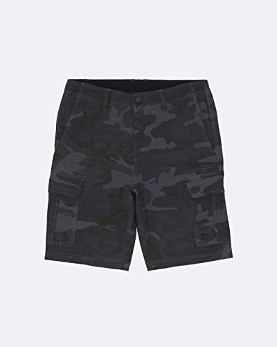 BILLABONG Scheme Submersible Pantalones Cortos, Hombre, Camuflaje (Charcoal Camo), 30