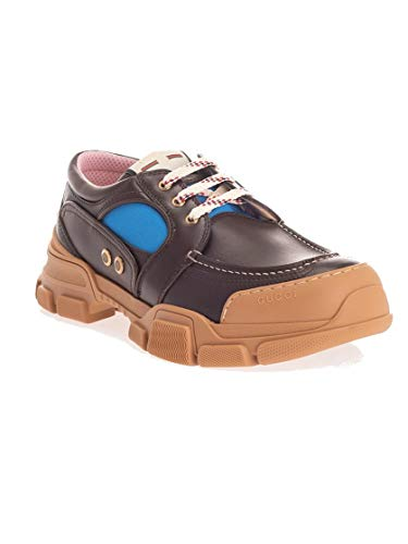 Luxury Fashion | Gucci Heren 5760481DZ102165 Bruin Leer Sneakers | Herfst-winter 19