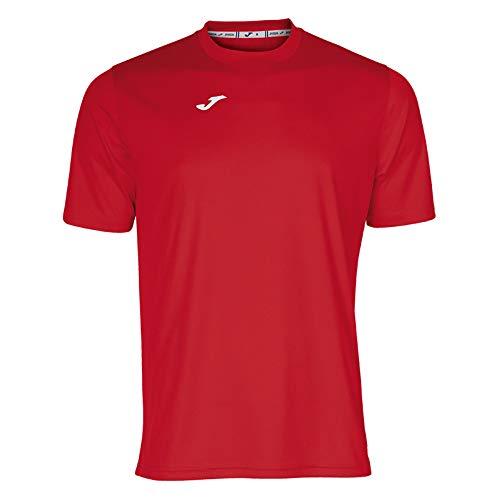 Joma Combi Camiseta Manga Corta, Hombre, Rojo, XL
