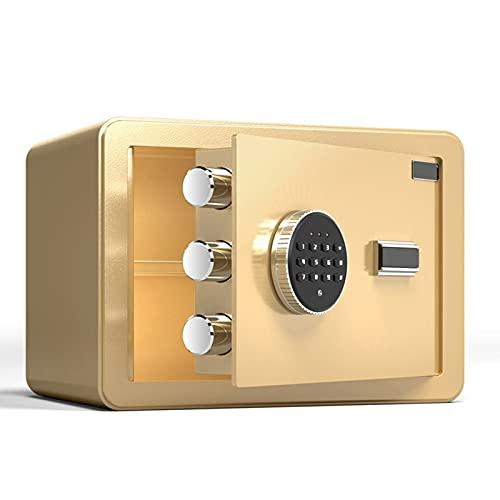 GQTYBZ Todas Las Cajas de Seguridad de Acero para el Hogar, Protección Inteligente, Caja de Seguridad Digital de DepóSito en Efectivo, Se Aplican a La Caja Fuerte del Hogar y La Oficina