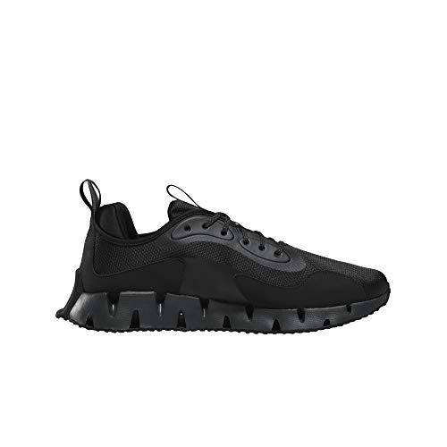 Reebok Men's ReeCycle Zig Dynamica Running Shoe, Black/Cold Grey, 10