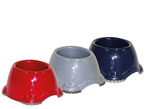 Moderna Spaniel - Ciotola, colore: Blu bacca