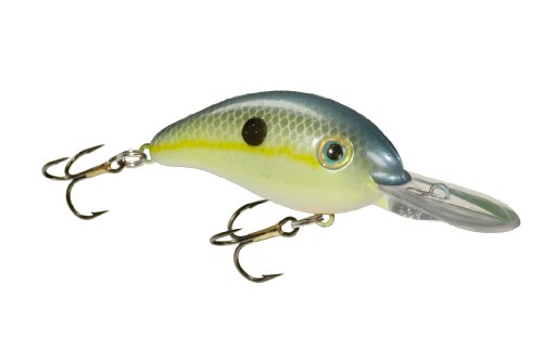 Strike King Pro-Model Series 6 Bait (Chart. Sexy Shad, 0.75-Ounce)