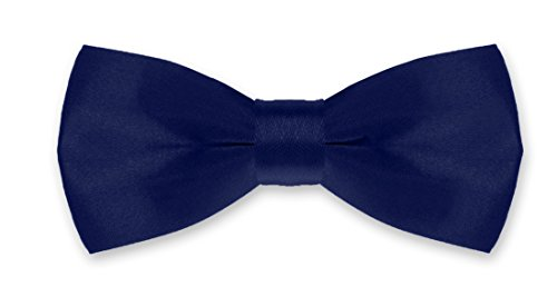 Autiga® Fliege Kinder Kinderfliege Hochzeit Konfirmation Schleife Schlips verstellbar Anzug Smoking dunkelblau