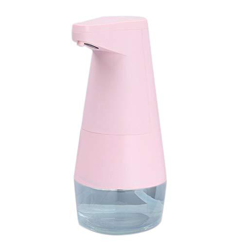 Milkvetch Dispensador de JabóN de Espuma AutomáTico de Espuma RáPida 0.1S Sin PresióN de Burbujas de 330 Ml para Lavarse Las Manos, Gel de Ducha, Champú, Rosa