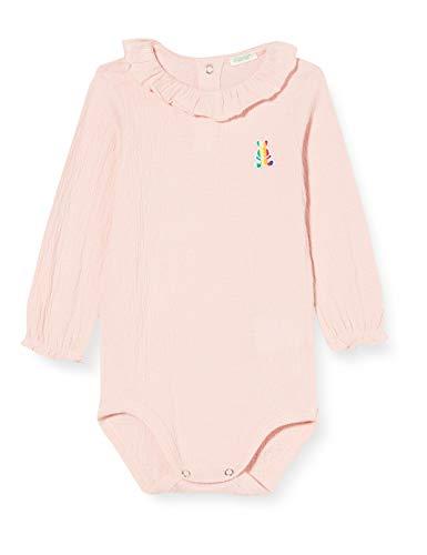 United Colors of Benetton (Z6ERJ Baby-Jungen Body Tunika zum Stillen, Peach Skin 04u, 62 cm