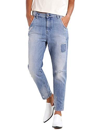 Diesel Fayza EVO 084HE Damen Jeans Boyfriend (25W / 30L, Blau)