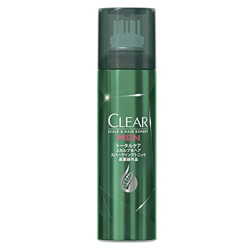 CLEAR(クリア) [医薬部外品] クリアフォーメン 薬用 スカルプ&ヘア スパークリング トニック   130g