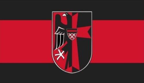 Sudetenland mit Wappen XXL Fahne Flagge Polyesterstoff 1,50x2,50m - FRIP –Versand®
