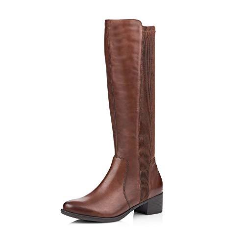 Remonte Damen Stiefel R5174, Frauen Stiefel, Women\'s Women Woman Freizeit leger Boots lederstiefel Damen,Mahagoni/Sherry/Schoko / 25,40 EU / 6.5 UK