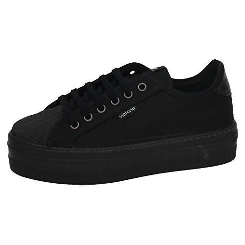 VICTORIA 132900 platformen VICTORIA dames sneaker zwart 36