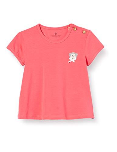 Bellybutton mother nature & me T- Shirt 1/4 Arm, Rouge (True Red 2993), 86 Bébé Fille