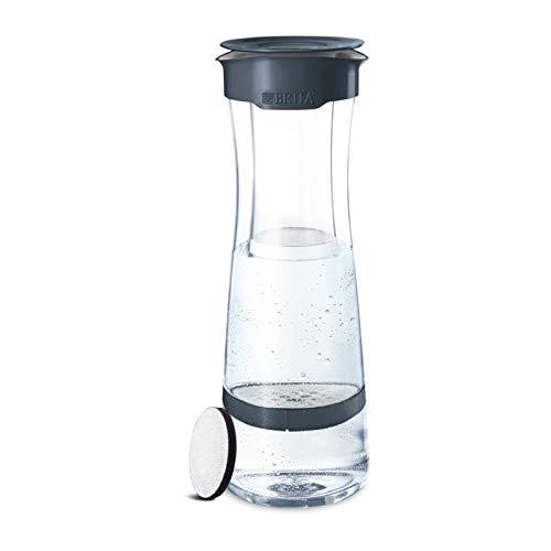 BRITA, Filterflasche, Fill&Serve, 1.3L, 1 Filterscheibe, Grau, Anthrazit