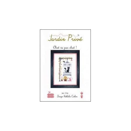 Chart 3228 Cross Stitch Chart Lets Learn from Our Cat