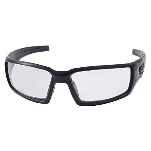 Howard Leight by Honeywell Uvex Hypershock Shooting Glasses with HydroShield Anti-Fog Lens Coating, Clear Lens (R-02230)