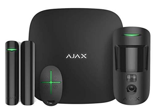 AJAX - Sistema de alarma (2 unidades), color negro