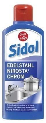 SIDOL limpia metales (acero inoxidable Nirosta).