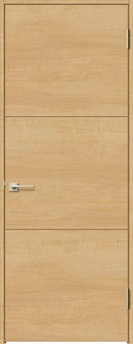 ラシッサS 標準ドア ASTH-LAD 錠付き 0620 W:734mm × H:2,023mm 吊元:左吊元 本体色/枠色:クリエペール(PP) 枠種類:ノンケーシング171(壁厚:131-145) 沓摺:埋込沓摺(A枠) 把手:サークルB 鍵種類:丸型