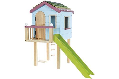 Lottie LT0892 Casa Sull'Albero – Bambole – Abiti – Accessori – Set di Giochi – da Collezione – Ideati da Bambini Veri! Fatto di Legno e Colori Adatti ai Bambini!