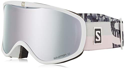 Salomon, Sense, Damen-Skibrille, Weiß (White Flower)/Universal Super White, L40521700