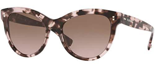 Valentino Gafas de sol VA4013 509814 Gafas de sol Mujer color Rosa marrón tamaño de lente 54 mm