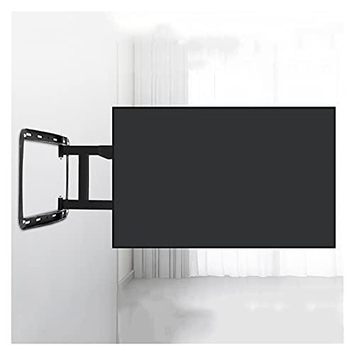 zlw-shop 32'-75' montado en la Pared TELEVISOR Soporte de Cuatro Brazos de Carga de Carga de Carga rotación de inclinación Universal TELEVISOR Soporte de Montaje de Pared Fijo, máx. VESA 40 0x400mm