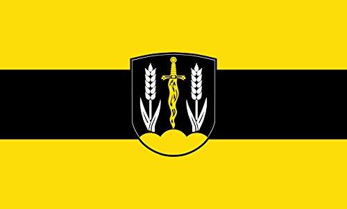 Unbekannt magFlags Tisch-Fahne/Tisch-Flagge: Schönberg 15x25cm inkl. Tisch-Ständer