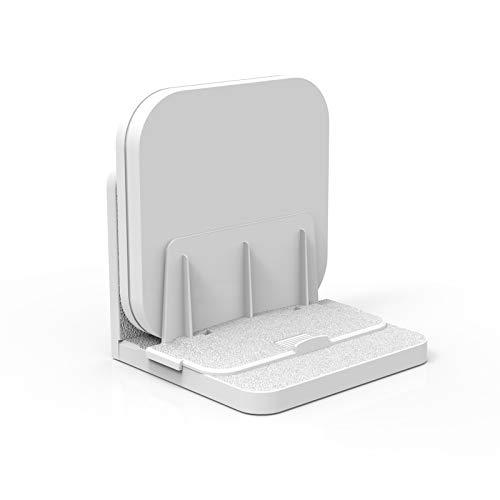 sciuU Universal Wandhalterung, Wandregal für TV Box/Netzwerk-Switches/Modems/Router,Kompatibel mit Apple TV, Sky Q Mini, usw. Mehrzweck Halter, Installation 3M Klebstoff oder Schrauben, Weiß