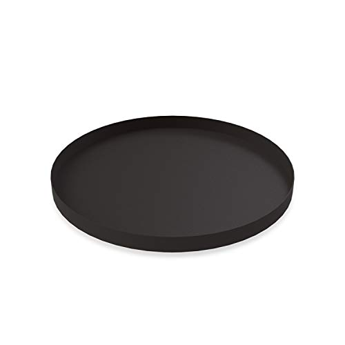 Cooee Design Tray Tablett, Edelstahl, Schwarz, 40 cm