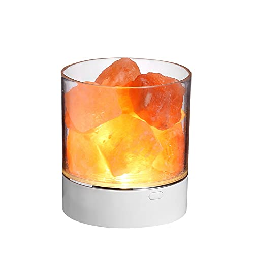 GFDFD Lámpara de Sal de la Sal de la Sal de Cristal Himalaya de la Sal de Sal de Sal de Sal de la Cama de la Mesa de la Mesa de la Noche de la Noche de la Noche de la Noche de la Noche de la Noche