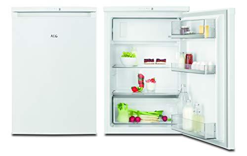 AEG RTE811D1AW Freistehender Tisch-Kühlschrank / 845 mm / Gefrierfach / 119 L / Farbe: Weiߟ / Effizienzklasse D