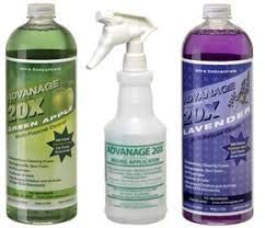 ADVANAGE 20X Multi-Purpose Cleaner Green Apple & Lavender 2 Pack - Manufacturer Direct - Our Newest Formula!