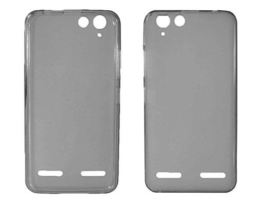 caseroxx TPU-Hülle für Lenovo Vibe K5 Plus, Tasche (TPU-Hülle in schwarz-transparent)