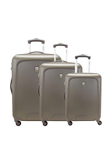 Delsey Set de 3 trolleys rígidos Space Marrón
