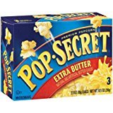 Best Price Pop Secret Extra Butter 3 pk Microwave Popcorn 10.5 oz (Pack of 2)