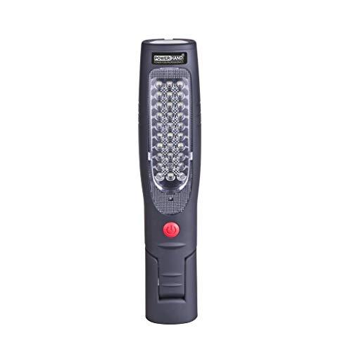 Powerhand Lampe de Travail Baladeuse Micro-USB Rechargeable Li-ION Noir SIN-100