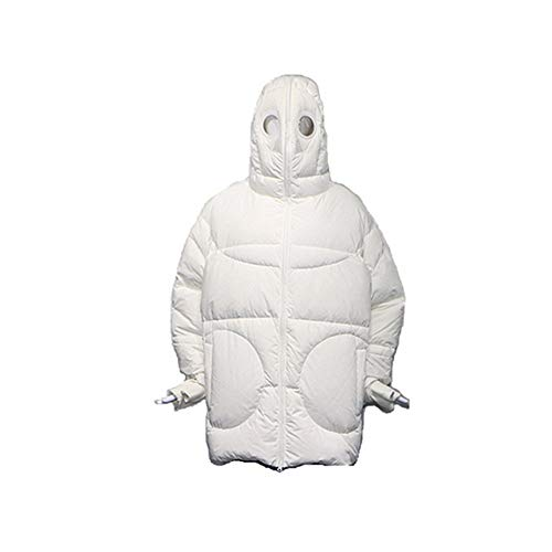 GELU grappige blazer dames nieuwe witte Alien katoenen jas